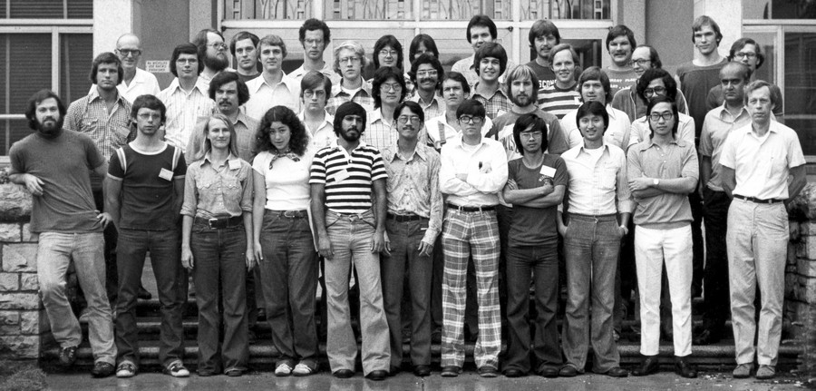 class photo session 1 1977