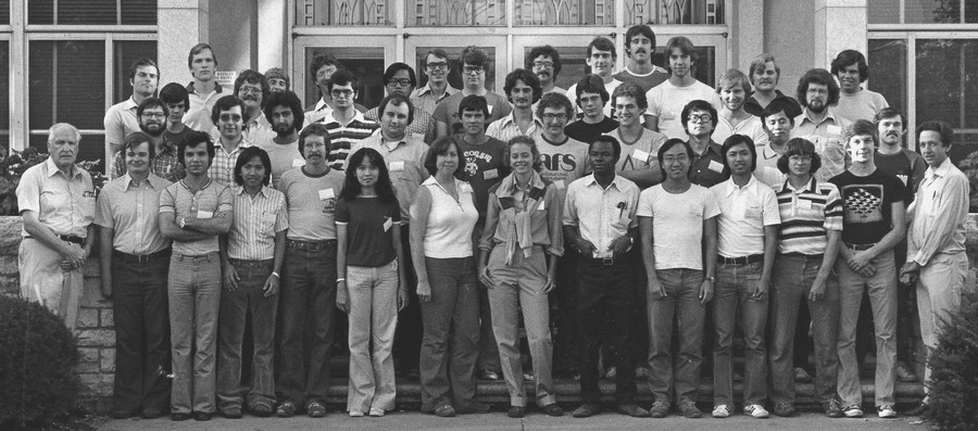 Class photo Session 2, 1978