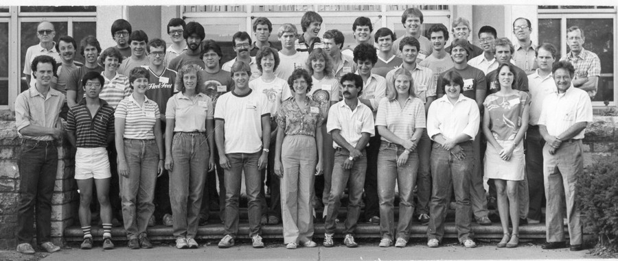 class photo session 3  1983